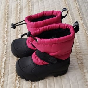 Northside Toddler Snowboots Sz 7 Like New Pink